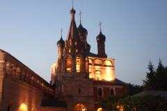 Июньский вечер в Крутицком подворье Москвы.