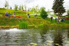 Москва, парк Зарядье.